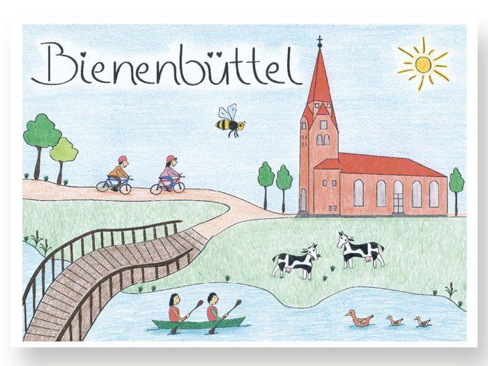 Bienenbüttel-Postkarte